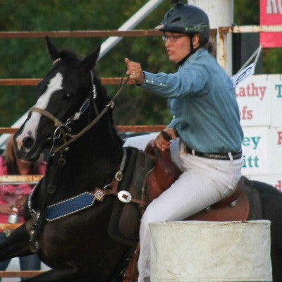 Kuleen Smith, barrel racing