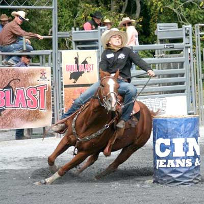 Lauren Keeney, Barrel Racer