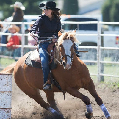Robyn Formanski, Canadian Barrel Racer