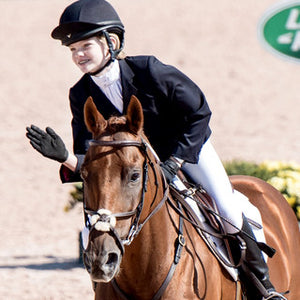 Chloe Johnson, horse eventer