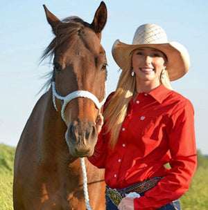 Morgan Keeney, Barrel Racer