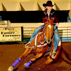 Tyler Huddy Owens, barrel racing