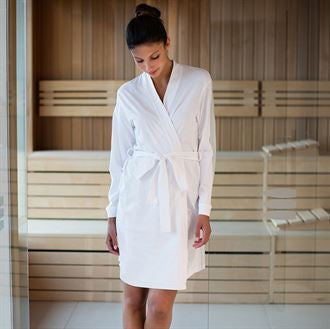 Personalised Cotton Wedding Robes by The Gift Rooms