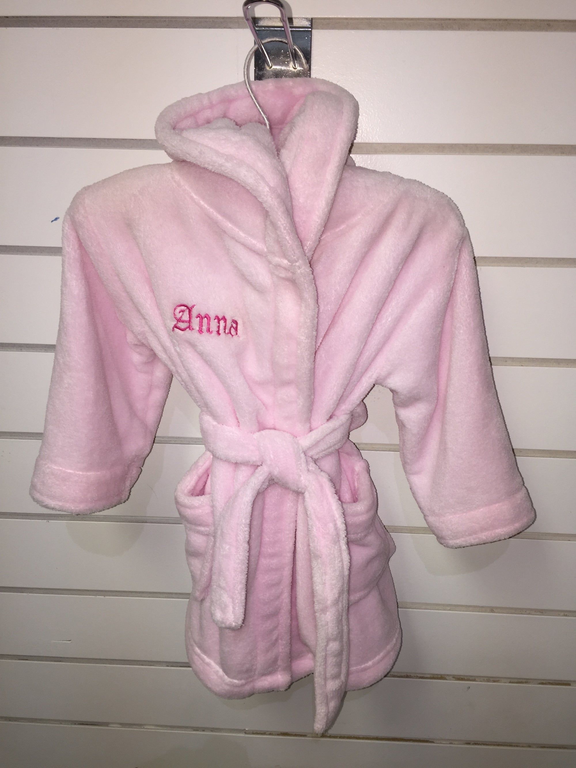Personalised Baby Robes The Gift Rooms