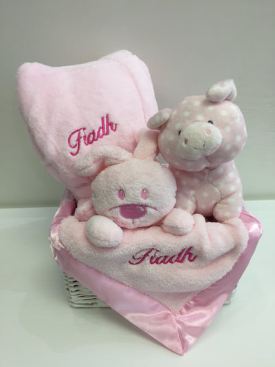 Personalised Bedtime Basket