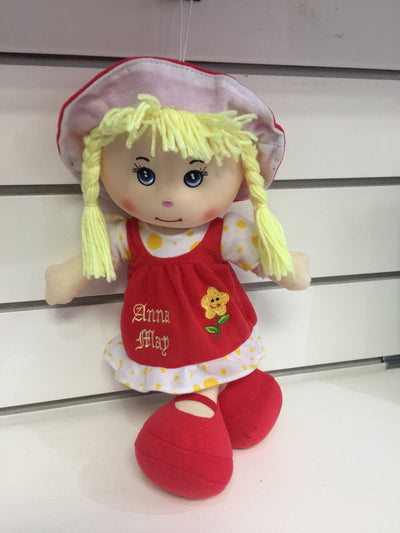 Personalised Rag Dolls by The Gift Rooms