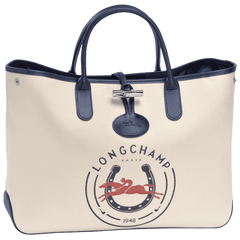 Roseau Longchamp Bolso Navy/Red