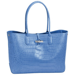 Roseau Croco Shopping Bag