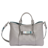 Longchamp 3D Bolso Cabás M Gris - Luxury Avenue Boutique