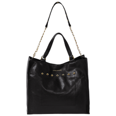 Paris Rock Bolso de Mano Negro