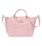 Le Pliage Cuir Bolso De Mano M Pink - Luxury Avenue Boutique