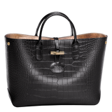 Roseau Croco Bolso Cabás M - Luxury Avenue Boutique
