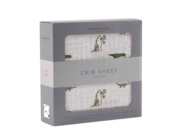 Dino Days Crib Sheet
