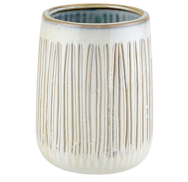 Pre- Order Tall Textured cream Planter