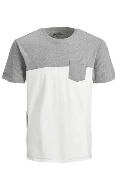 JJ Pocket Tee - Cloud Dancer
