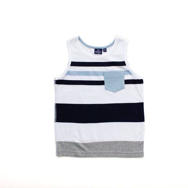 Baby Blue Gavin Toddler Tank