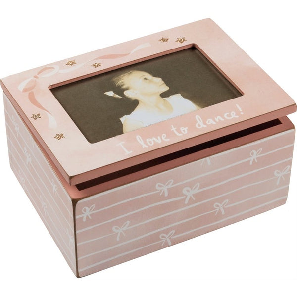 I love to Dance Jewelry Picture Box