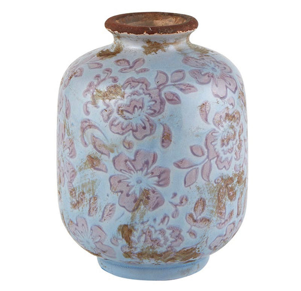 Periwinkle Grey Vase - Small