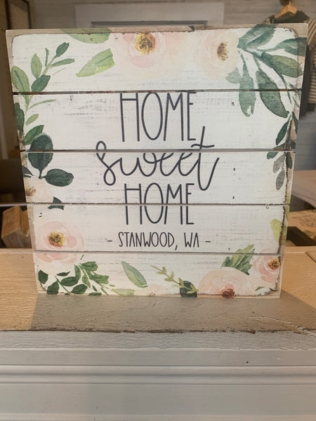 Pallets - Home Sweet Home Stanwood