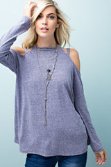 Be At Rest Jersey Top - long sleeve top- Lucy and Lou Boutique - www.lucyandlou.com