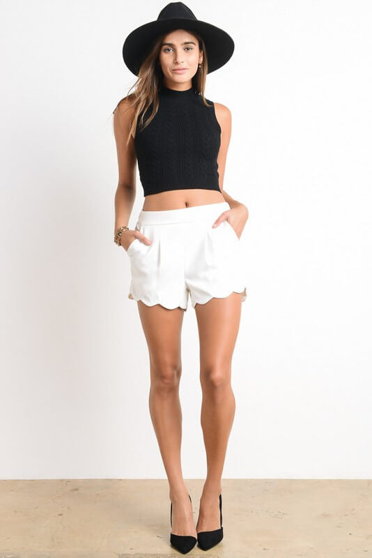 Cory Short - shorts- Lucy and Lou Boutique - www.lucyandlou.com