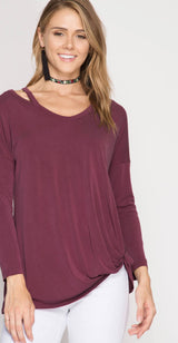 It Gets Better Long Sleeve Top - long sleeve top- Lucy and Lou Boutique - www.lucyandlou.com