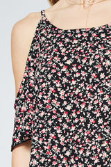 Kind At Heart Floral Short Dress - Dress- Lucy and Lou Boutique - www.lucyandlou.com