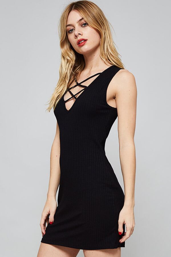 Night Out Black Short Dress - Dress- Lucy and Lou Boutique - www.lucyandlou.com