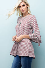 Saved By Grace - 3/4 Sleeve Top- Lucy and Lou Boutique - www.lucyandlou.com