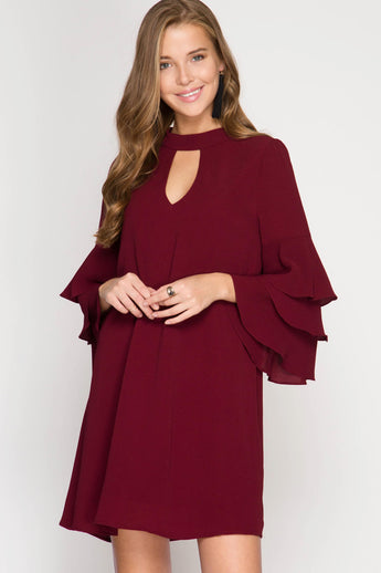 This Is The Moment Dress - Sweater- Lucy and Lou Boutique - www.lucyandlou.com