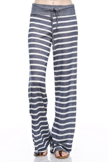 Today We Lounge Stripe Pant - Pants- Lucy and Lou Boutique - www.lucyandlou.com