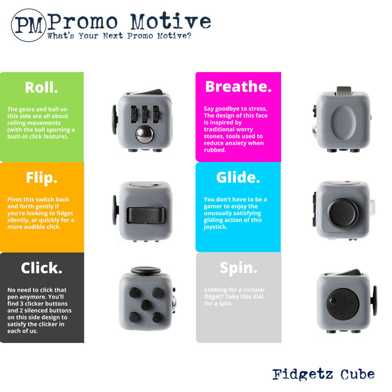 Fidget Cube for promotional products.