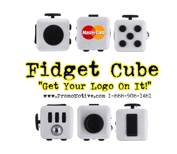 MasterCard Gets Their Logo On Fidget Cubes