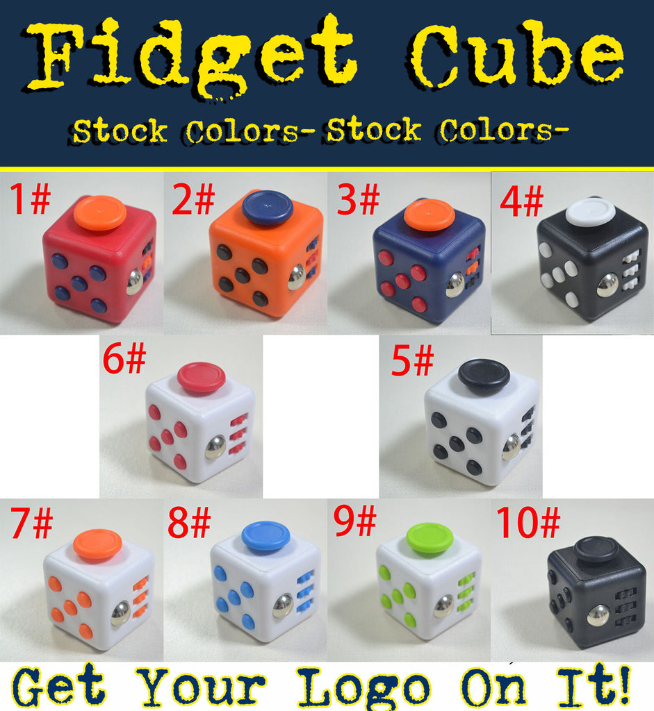 fidget cube promotional product giveaway