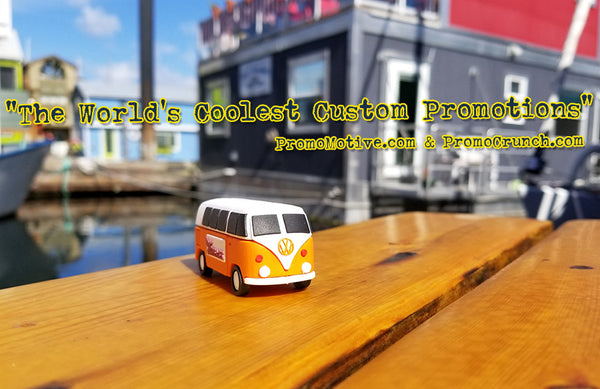 VW bus custom shaped flash drive