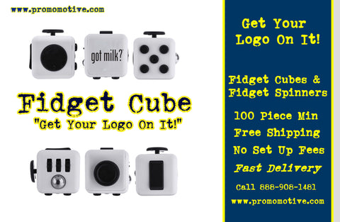 Get Your Logo on a Fidget Cube