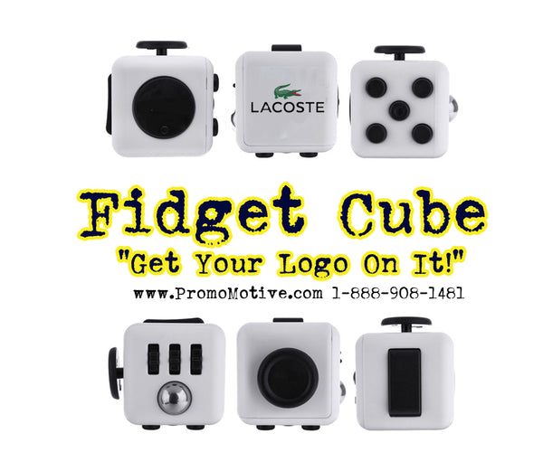 Lacoste Gets Logo Put On Fidget Cubes