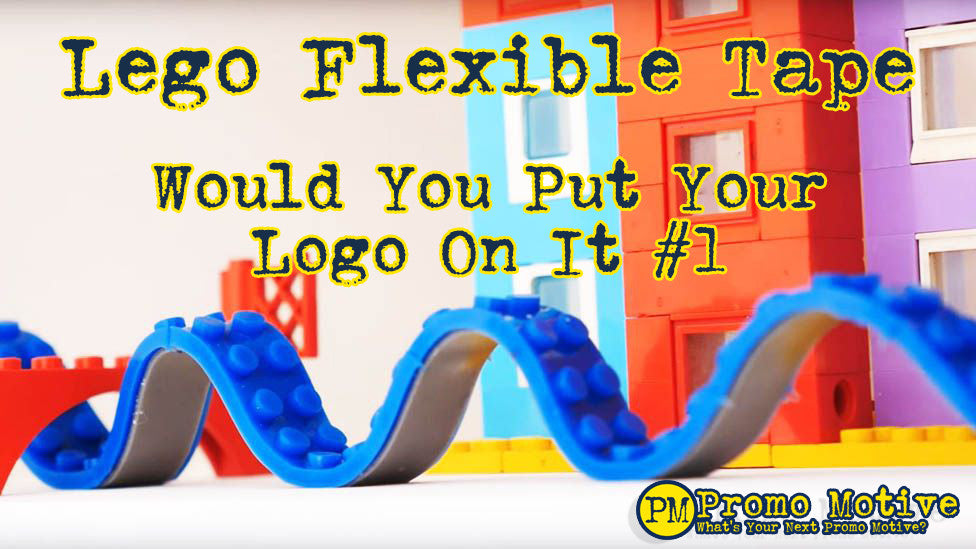 Lego flexible tape. Would you put your logo on it?