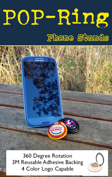 Propring pop style phone holder for tradeshow swag