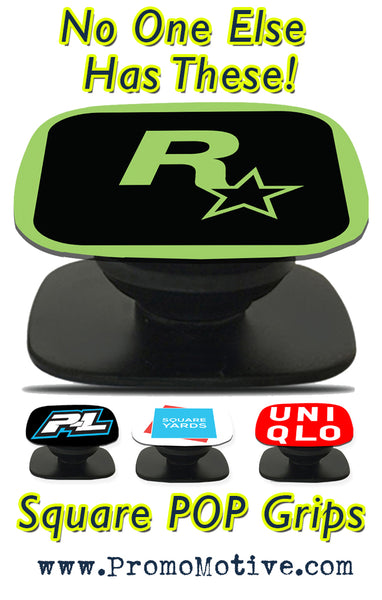 squa re popsocket style phone grips for tradeshow