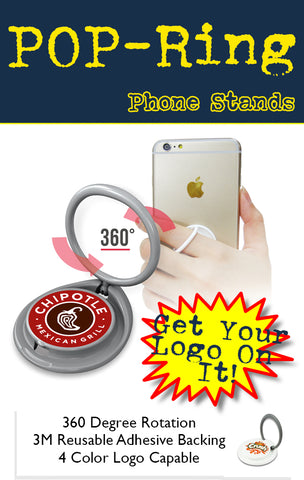 trade show swag popring phone stand tradeshow giveaway