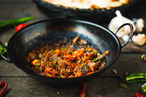 Balti Curry Health benefits