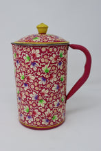 Hand Painted Indian Water Pitcher