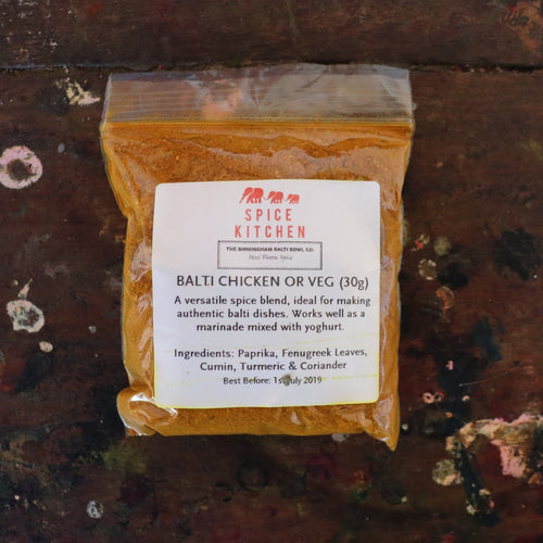 REFILL 30g Balti Chicken OR Vegetable