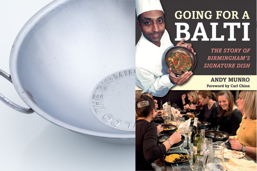 GIFT SET; Balti Bowl and 'Going For a Balti' by Andy Munro (SIGNED COPY)
