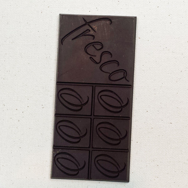 Dark chocolate by Fresco Chocolate