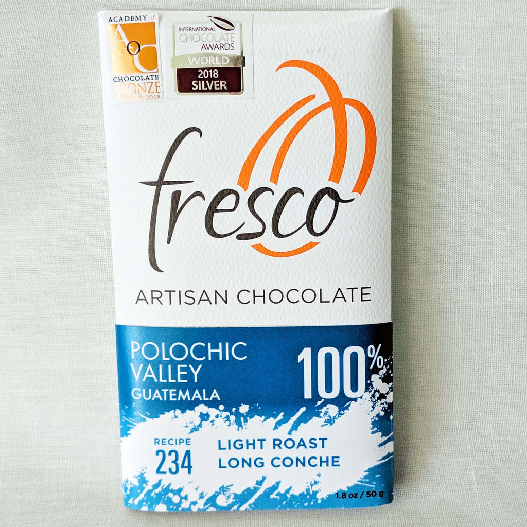 Polochic Valley # 234. 100% cocoa by Fresco Chocolates
