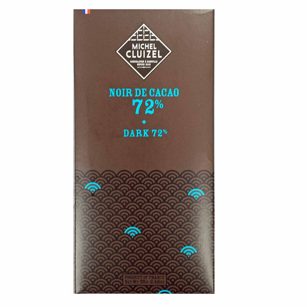 Dark. 72% cocoa by Michel Cluizel.