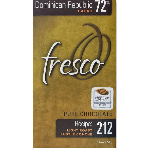 Dominican Republic. 72% cocoa by Fresco