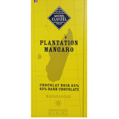Mangaro. Dark. 65% cocoa by Michel Cluizel.